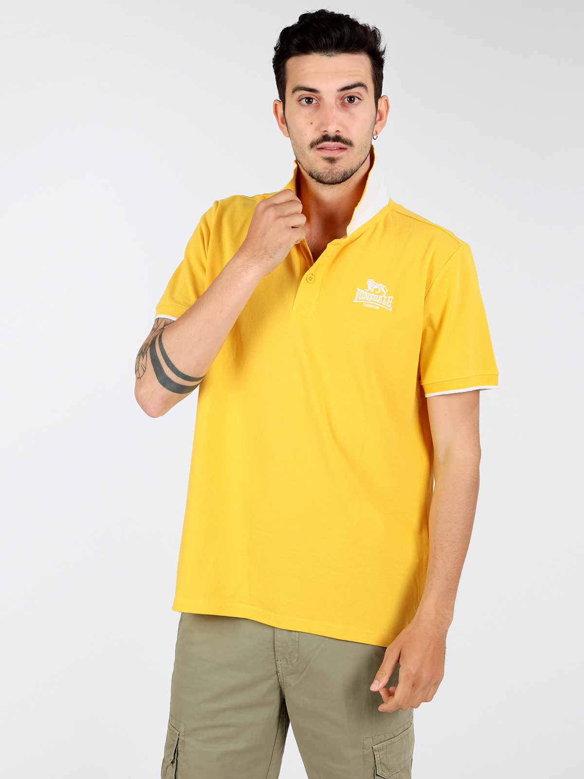 Men's   polo   shirt short sleeve