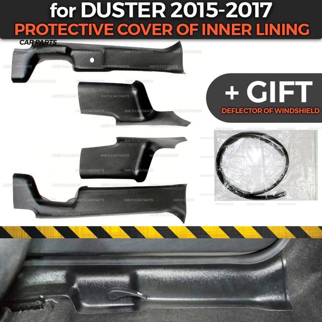 Beschermende Covers Voor Renault / Dacia Duster 2015 2017 Van Binnenvoering Abs Plastic Trim Accessoires Bescherming Van Tapijt styling