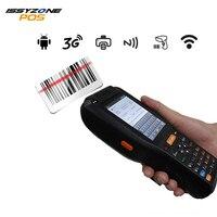 IPDA015 Android 6.0 handheld terminal PDA built in 58mm Thermal Printer 1D 2D QR Barcode Scanner GPS NFC Card Reader Fingerprint