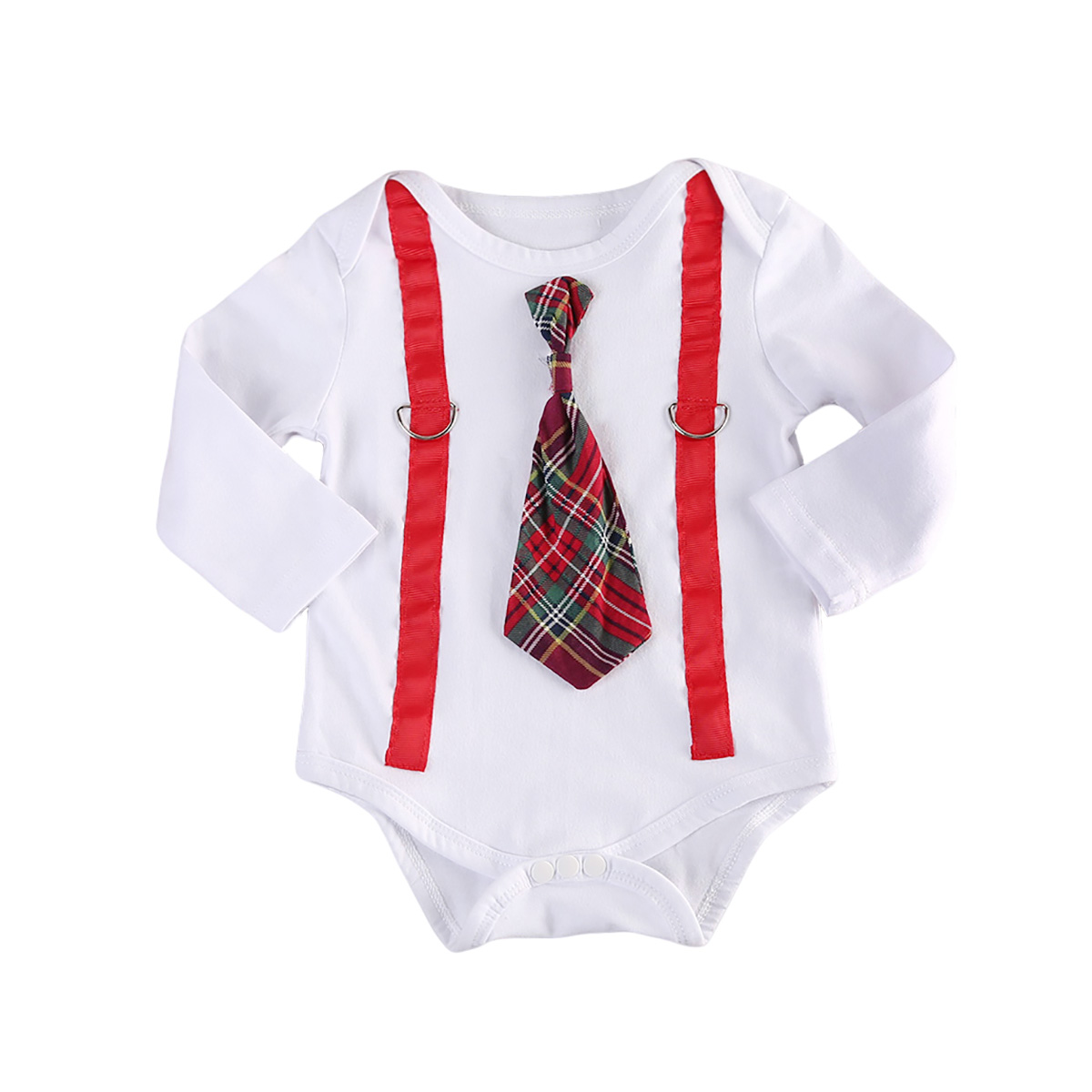 Newborn Baby Boys Clothing Tops Belt Romper Long Sleeve Cotton Formal New Rompers Clothes Baby Boy 0-2T