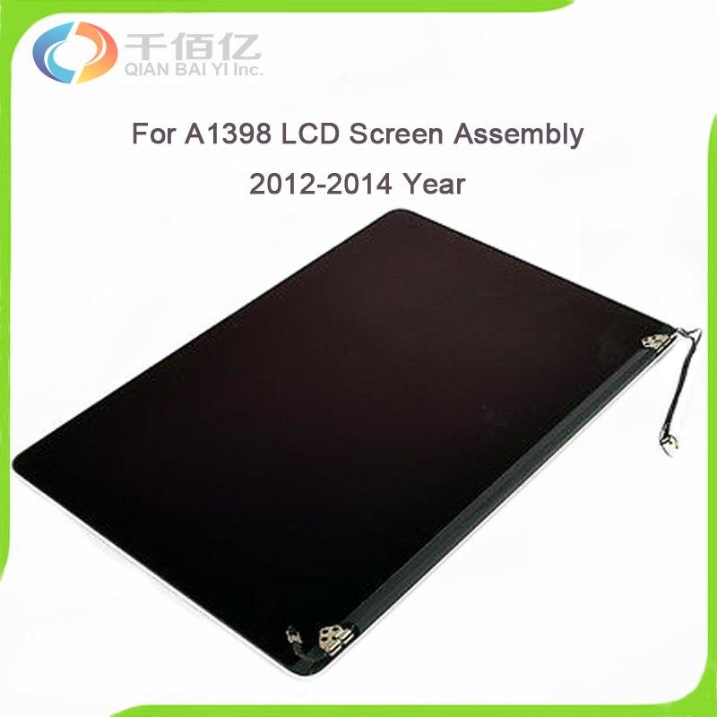Оригинальный 100% рабочий A1398 ЖК экран в сборе для MacBook Pro retina 15 ''2012 2013 2014 год