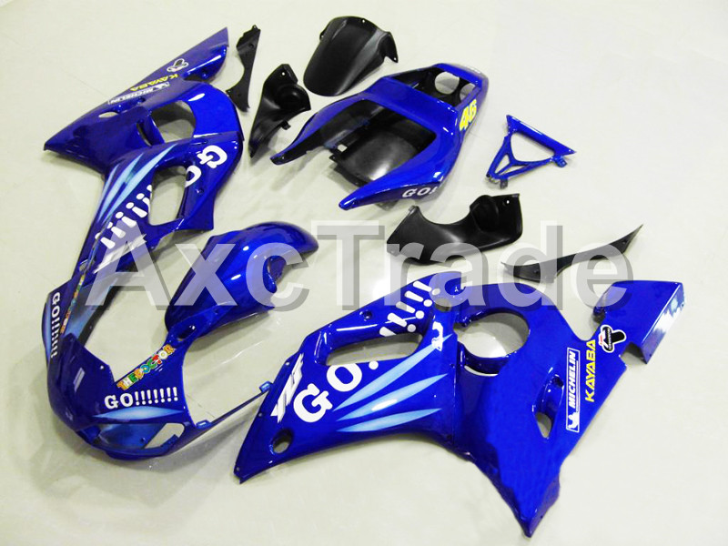 Motorcycle Fairings For Yamaha YZF600 YZF 600 R6 YZF-R6 1998 1999 2000 2001 2002 ABS Injection Molding Fairing Bodywork Kit 111 hot sales yzf600 r6 08 14 set for yamaha r6 fairing kit 2008 2014 red and white bodywork fairings injection molding