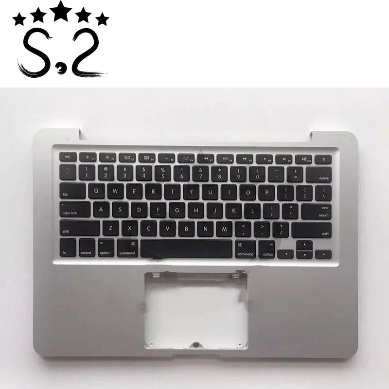A1278 US Topcase For Macbook Pro Keyboard and Backlight Top case Cover Assembly 2011 2012 year
