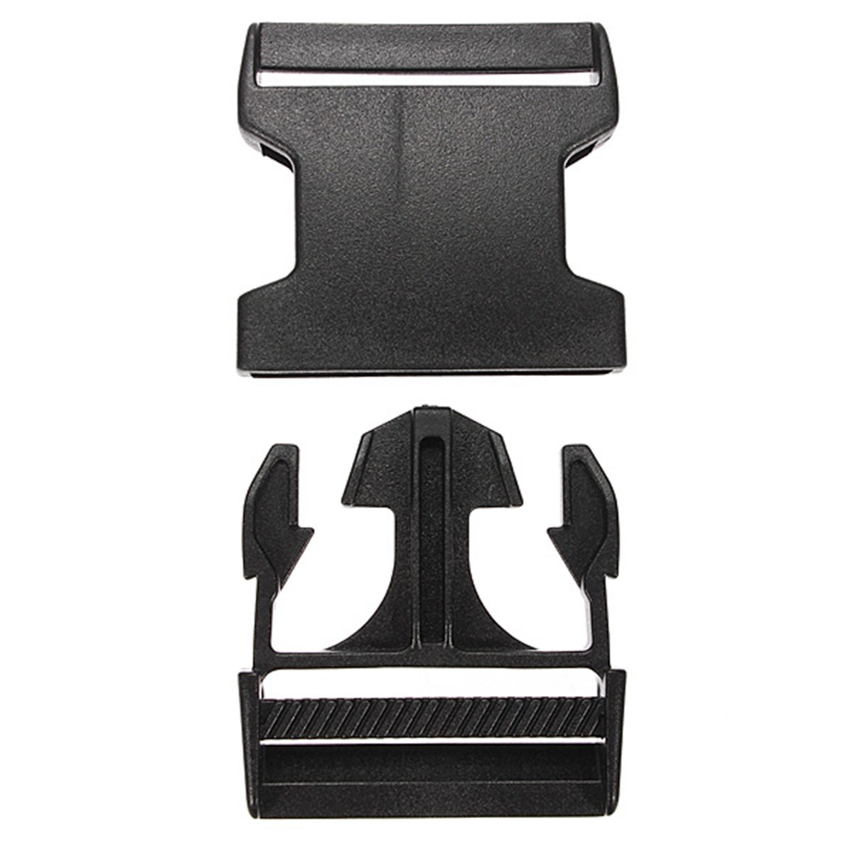1PCS 25/40/50mm Black Plastic Side Quick Release Clasp Buckles Webbing Strap Useful Bag Accessories Parts For Wholesale