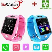 SzWatch DZ09 Смарт-часы мужские поддержка SIM TF карты для Android IOS камеру телефона детей Bluetooth часы с Россией PK a1 GT08