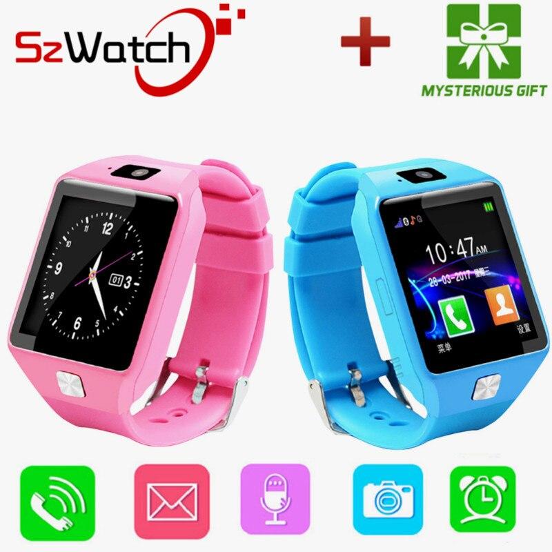 SzWatch DZ09 Smart Watch Uomini di Sostegno SIM TF Card Per Android IOS Phone Camera Dei Bambini Della Vigilanza di Bluetooth Con La Russia PK A1 GT08