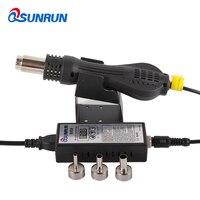 QSUNRUN Hot Air Solder Blower 8858 Didital Rework Station Optional Portable Heat Gun Welding Tools With Temperature Control