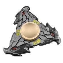 Dragon Head Hand Spinner Metal Finger EDC Focus Desk Fidget Toy Kids Adult