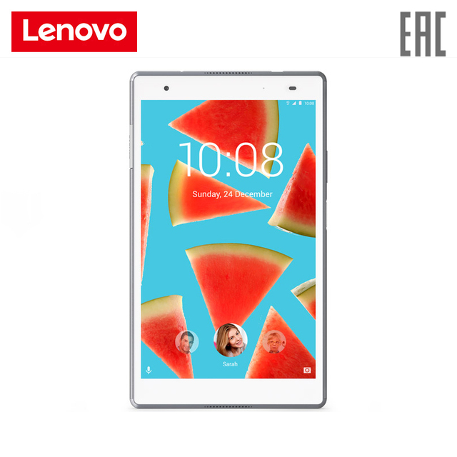 Планшет Lenovo Tab 4 Plus TB-8704X, 4GB, 64GB, 3G, 4G, Android 7.0 белый [za2f0106ru]