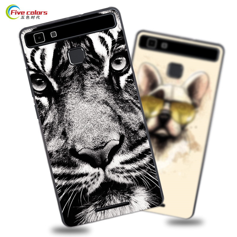 Vernee Thor E Cases Mobile Phone back PC hard case For Vernee Thor E fashion cute cartoon painting shell Protective phone cover ...