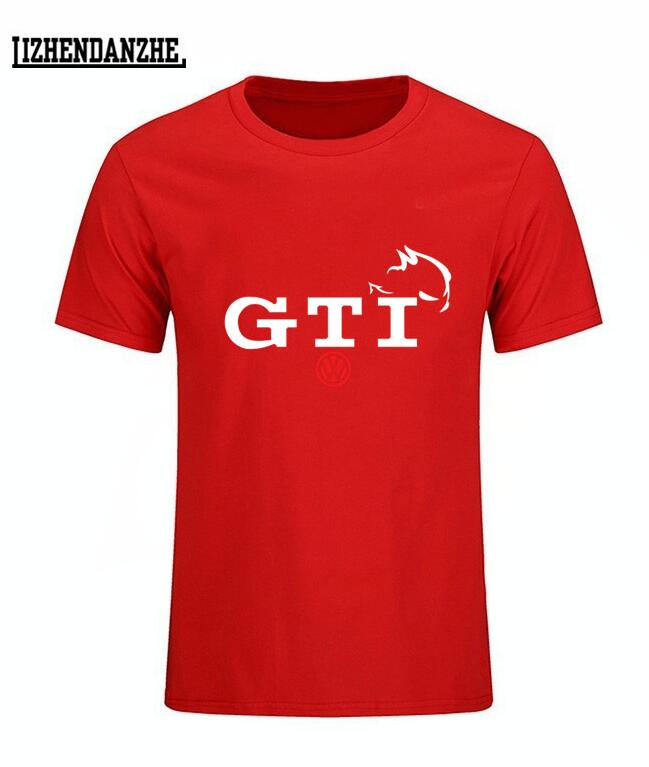 VW Volkswagen GTi Golf Sports Car Racing Mens T-Shirt t shirts, auto tshirt summer fashion clothing tees #10