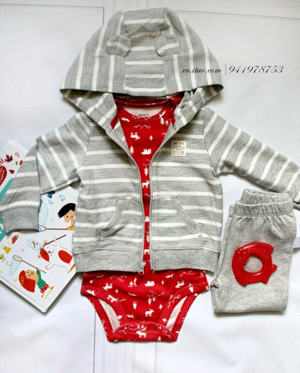 Трикотажный костюм для малыша с Алиэкспресс