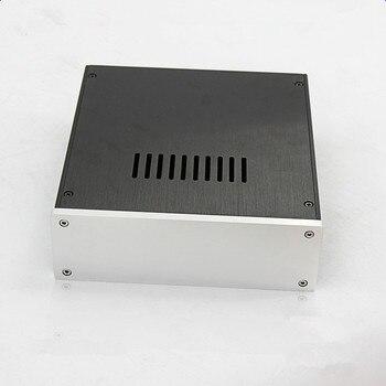 BZ2207C All Aluminum Enclosure Amplifier Audio Chassis Preamplifier Case DIY Housing Box 215MM*70MM*228MM фото