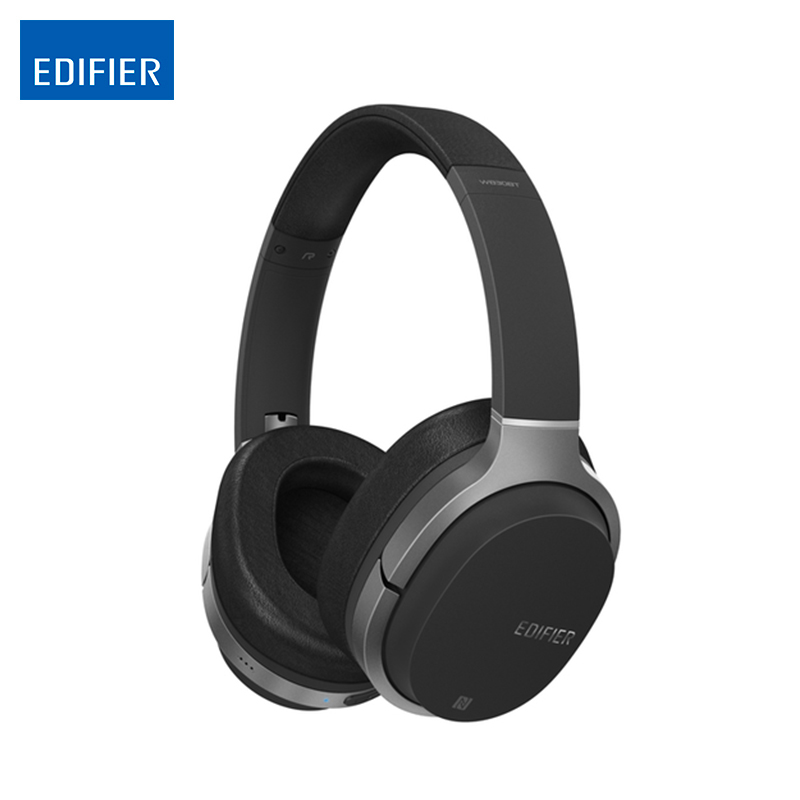 Wireless Bluetooth headphones folable headset Edifier W830BT Noise Isolation Ear Headphone Support NFC & Apt-X  wireless pulse macaw te10 bluetooth гарнитура mmcx интерфейс обновление линии apt x управление проводным кабелем bluetooth с michael call black