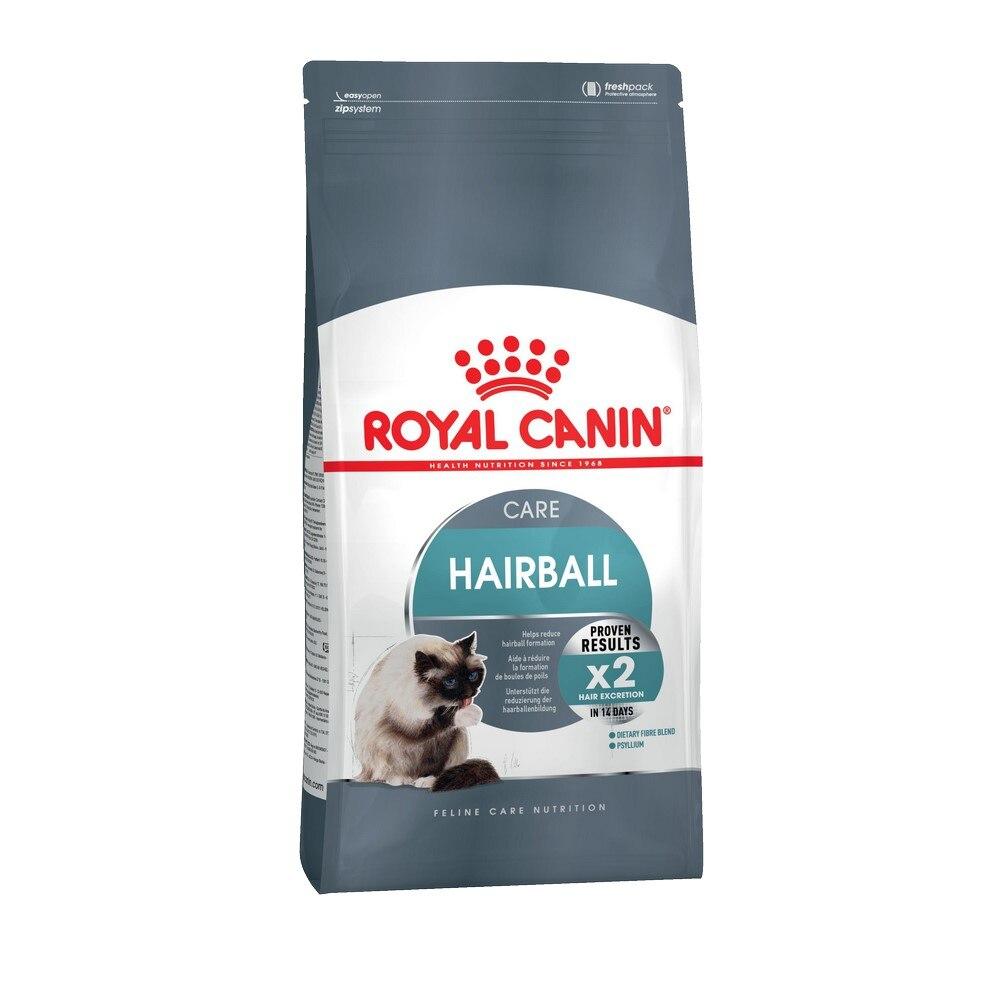 Royal Canin Hairball Care для профилактики образования комочков шерсти у кошек, Cat Food, For Cats, 2 кг