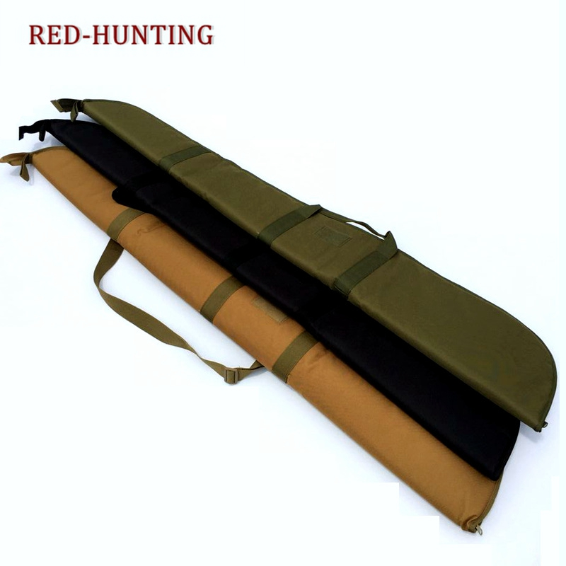 130cm Air Rifle Case With Soft Padding Durable Water-Resistant Tactical Military Nylon Gun Bag Protection Carrying Case Backpack