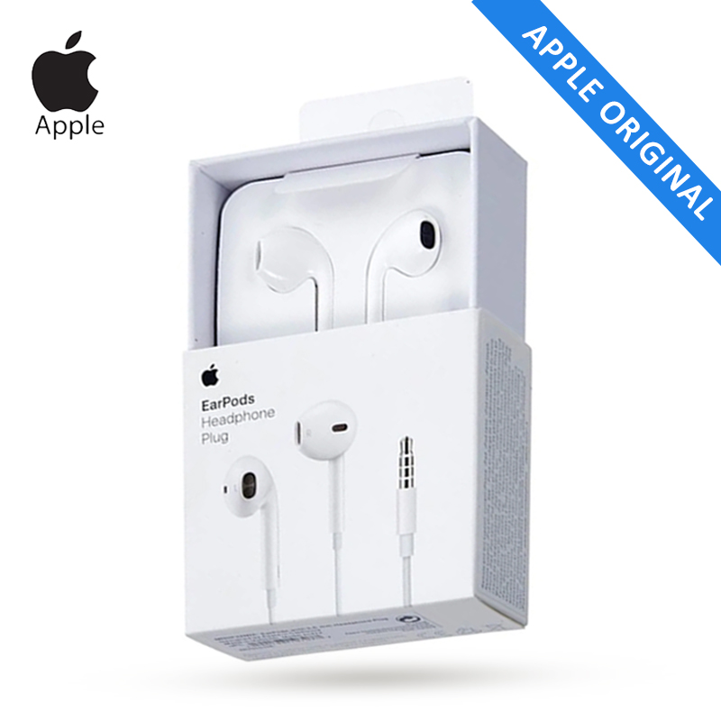 Apple EarPods A1472 Original 3 5mm Wired Headphones Microphone Earphone for Mobile iPhone 5 5S SE