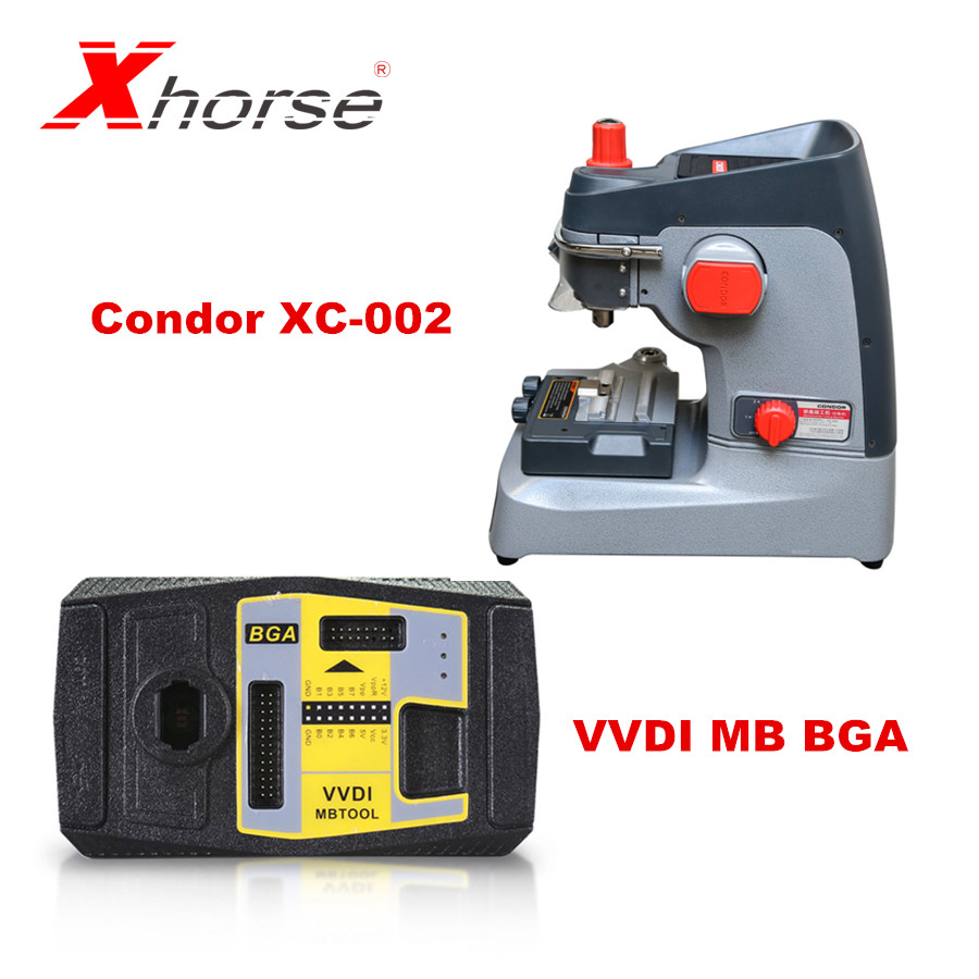 Xhorse CONDOR XC-002 <font><b>Key</b></font> Cutting Machine Plus VVDI <font><b>MB</b></font> BGA Tool Get 1 Free Token Per Day for Benz <font><b>Key</b></font> <font><b>Programmer</b></font> W210 image