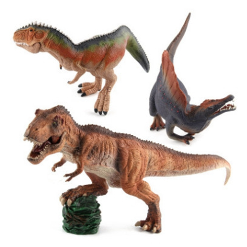 Jurassic Wild Life Dinosaur Toy Set Plastic Play Toys ...