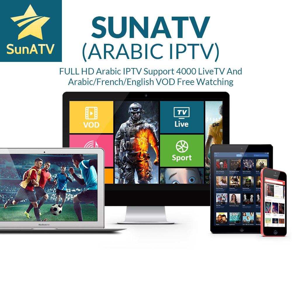 Sunatv French IPTV Belgium IPTV Arabic IPTV Dutch IPTV Support Android m3u enigma2 mag250 TVIP 4000+Vod supported.