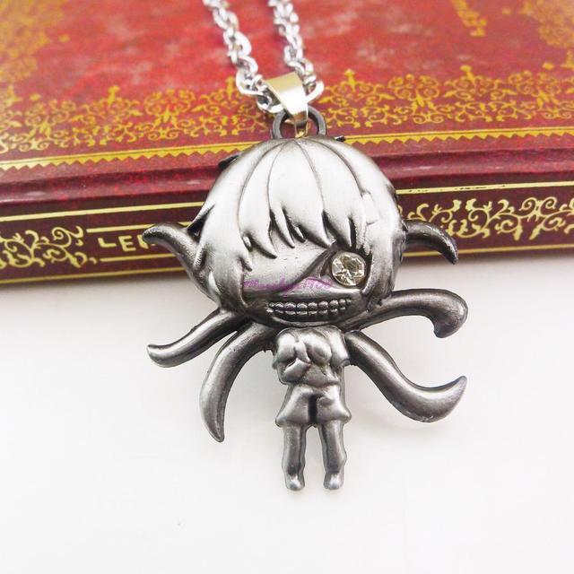 Anime Tokyo Ghoul Kaneki Ken Pendant Necklace