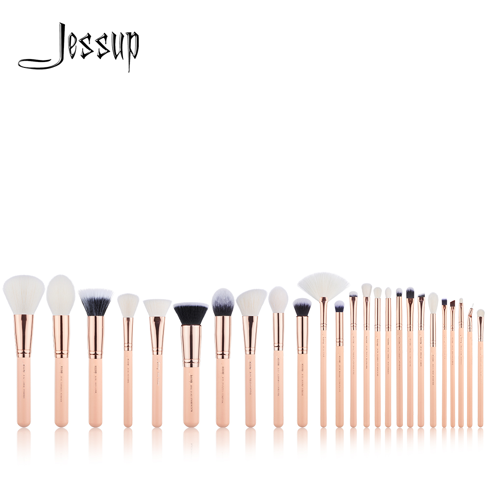 NEW Jessup Brushes 25PCS Professional Makeup brushes set Beauty tools Make up brush POWDER FOUNDATION EYESHADOW CONCERLER jessup brand 25pcs beauty bamboo professional makeup brushes set make up brush tools kit foundation powder blushes eye shader