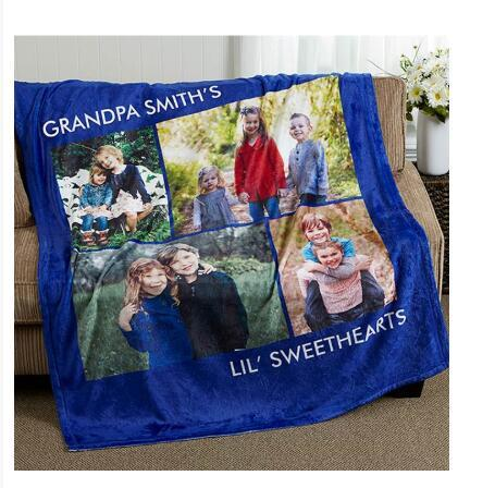 Print on demand, Dropshipping Picture Perfect Personalized Fleece Photo Blanket 2