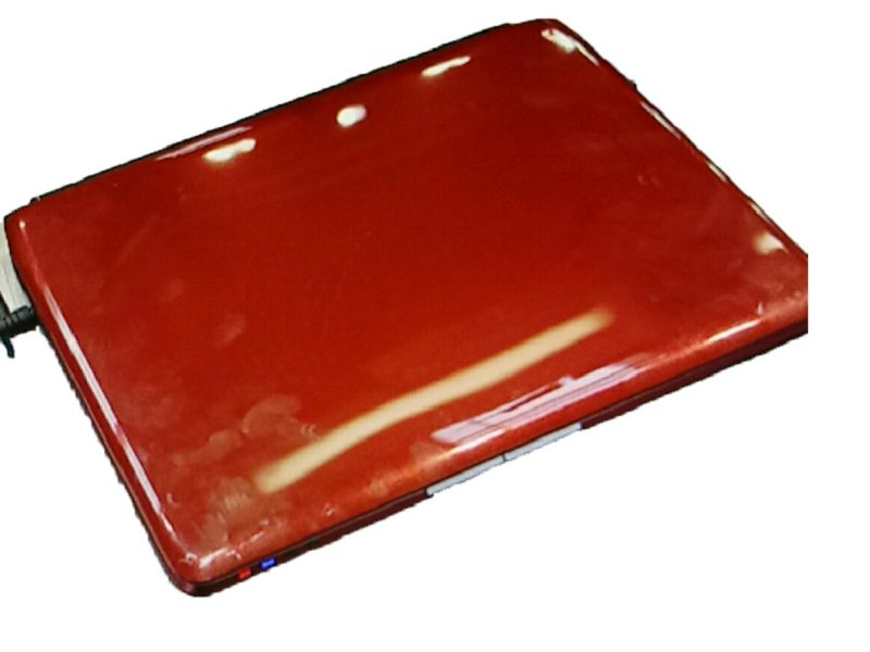 Laptop LCD Top Cover For ACER For Aspire one 752 Back Cover Red New Original laptop palmrest for acer aspire 5532 5732 ap06s000500 lcd top cover ap06s000400