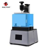 Kelant офисная Электроника 3d принтер УФ lcd Собранный Фотон смолы SLA свет лечение 3,5 ''Настольный Impresora 405nm плюс 3d принтер s
