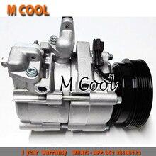 High Quality AC Compressor For Hyundai Trajet/Santa Fe I 2.0L F500-BBWBB-02 F500-BBWBB-03 F500-BBWBB-06 QBVDA-01 F500-MAXDA-01