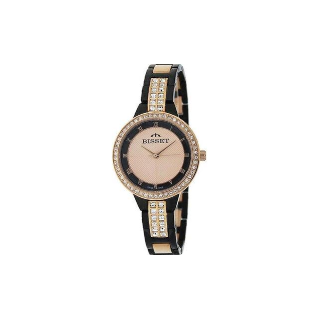 Наручные часы Bisset BSBE07TRBR03BX женские кварцевые
