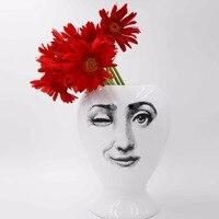 Творческий Дизайн узор Италия Милан Розенталь Пьеро Форназетти фарфоровая ваза Гостиная оформленный украшения дома аксессуары
