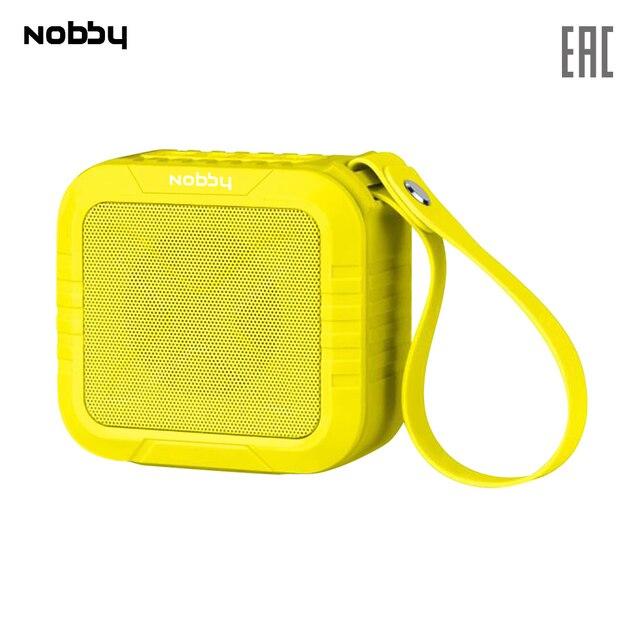 Беспроводная акустическая система Nobby Comfort PICNIC, портативная колонка, динамик, bluetooth, желтый