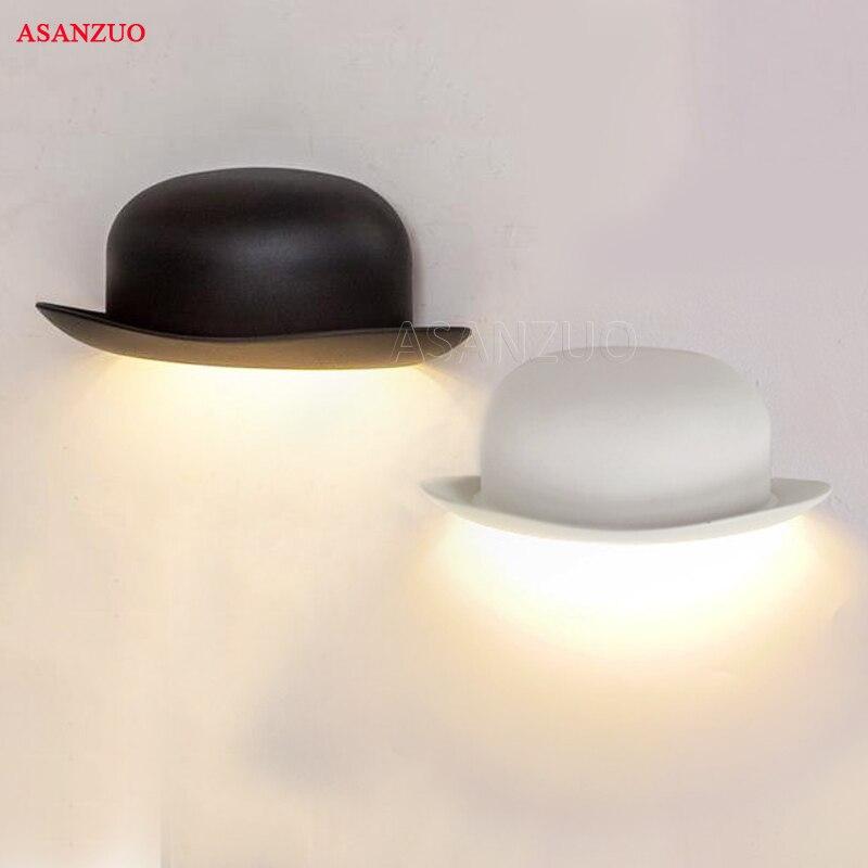 Moderno e minimalista LED in alluminio da parete lampade da comodino luce del bagno (IP55) creativo Camera Da Letto corridoio cappello Nuovo stile applique da parete