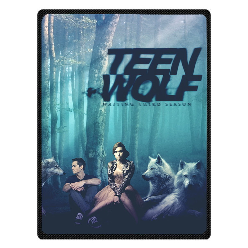 Comfortable Teen Wolf Personalized Blanket Sofa Bed Throw Blanket Kid Adult Warm Blanket Children Quilt