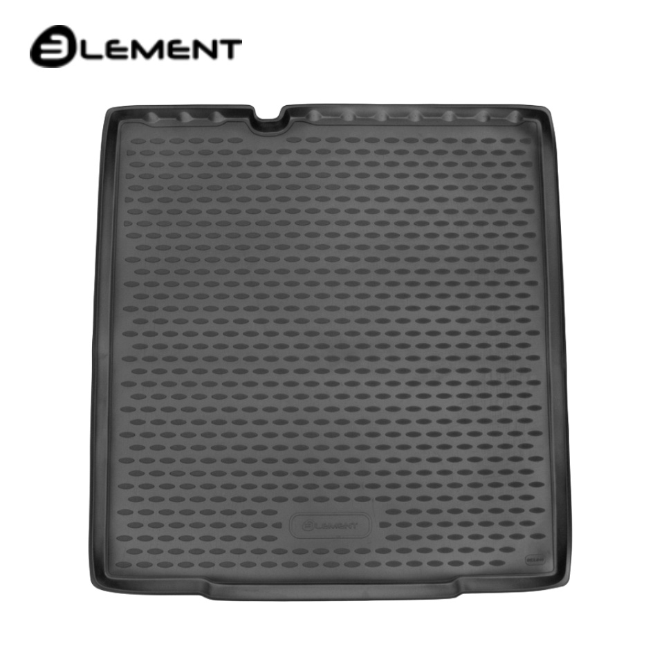 Фото - For Lada Vesta SW Cross trunk mat for equipment without raised floor (Element ELEMENT5249N12) pineapple print floor mat