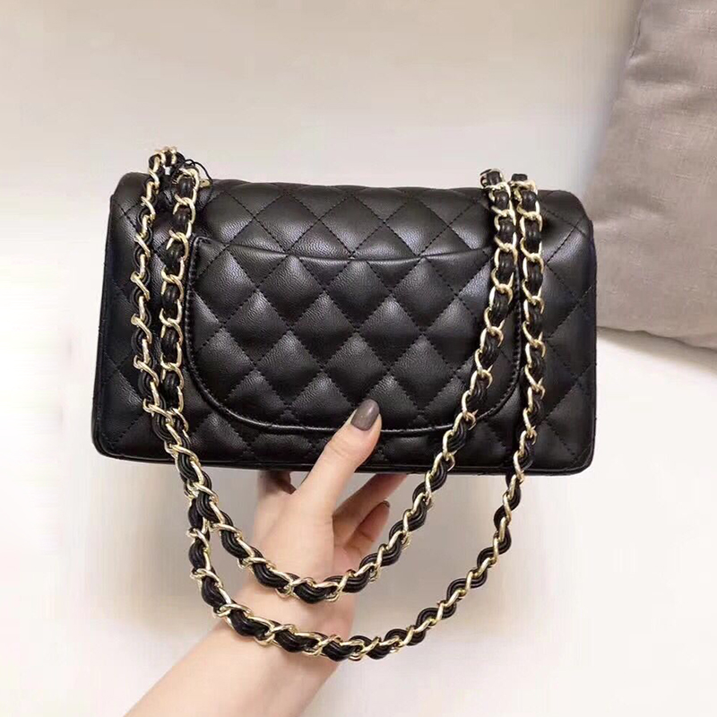 где купить Luxury Handbags Women Shoulder Bags Chains Fashion Brand Designer Real Leather Messenger Bag Lady Diamond Lattice Crossbody Bag по лучшей цене