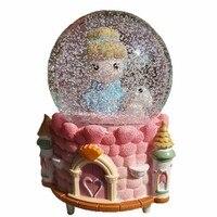 La Land Ballerina Carrossel De Madera Carillon Scatole Musicali Snow Ball Musica Boite A Musique Carousel Caja Musical Music Box