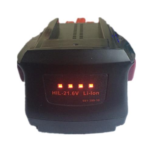 power tool battery for Hilti 21.6V Li-ion 3.0Ah SD 5000 SD 4500 18-A ST 1800-A22 SF SFH SID 22-A SID 18-A 3000 цена
