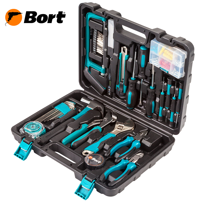Hand tool set Bort BTK-100