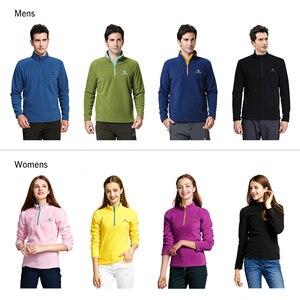 Image 2 - Camel jaqueta para caminhada, jaqueta grossa de lã para homens e mulheres, para outono de 2019, macia e à prova de vento, quente, multicolor