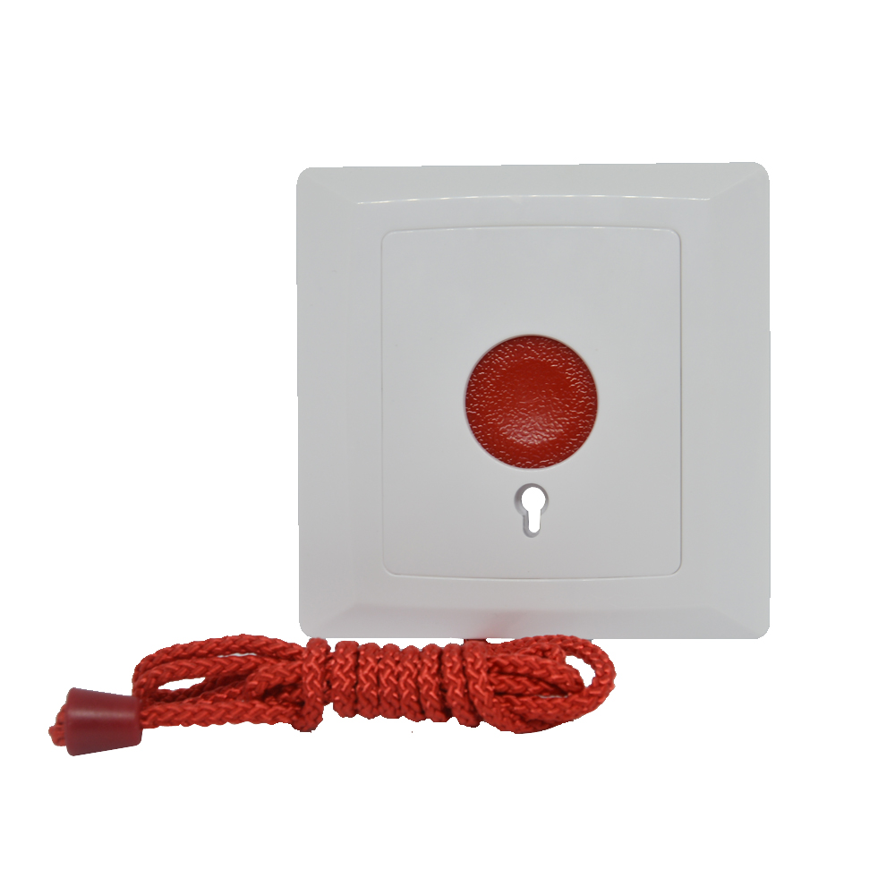 10 PCS Emergency Alarm Button NC NO output Signal options Rope style Pull to alarm Panic calling auto restoration 2 receivers 60 buzzers wireless restaurant buzzer caller table call calling button waiter pager system