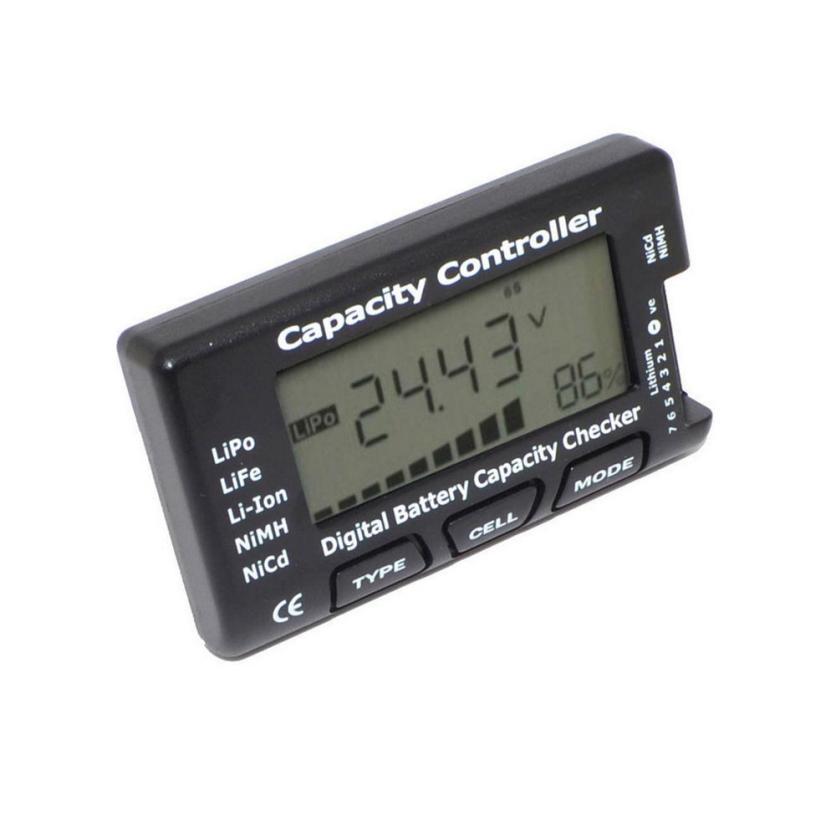 CellMeter-7 цифровой Батарея Ёмкость проверки LiPo LiFe литий-ионный NiMH NiCd IUNEED магазин игрушек