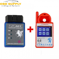 Mini CN900 Transponder Key Programmer Plus for TOYO Key OBD II Key Pro for 4C 46 4D 48 G H Chips With 24 Tokens