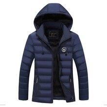 冬男性ジャケット2017綿衣服ブランドカジュアルメンズジャケットとコート厚いパーカー男性生き抜く4xlジャケット男性服ea 11