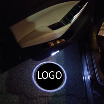 JXF samochodów sygnał świetlny dekoracyjne lampy 2 sztuk dla harley louts uniwersalne modele drzwi witamy LED Laser Logo duch cień ostrzeżenie tanie i dobre opinie JingXiangFeng CN (pochodzenie) Witamy Światło 45 cm