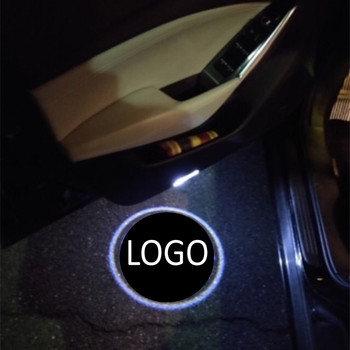 JingXiangFeng 2 pcs Case For maybach For harley Car Door Welcome Light LED Laser Logo Ghost Shadow For yamaha Warning lights