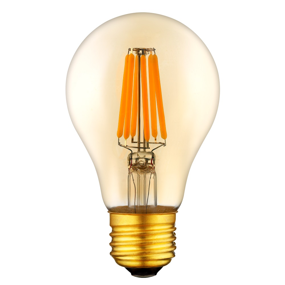 dimmable e26 10w amber retro led filament bulb light. Black Bedroom Furniture Sets. Home Design Ideas