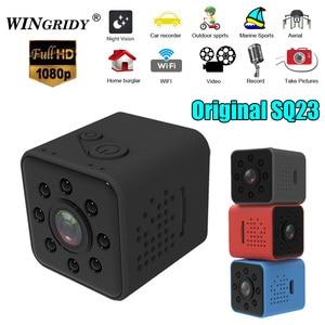 Image 2 - Оригинальная SQ23 sq13 WiFi камера мини камера видеокамера Full HD 1080P Спорт DV рекордер 155 ночное видение маленькая Экшн камера DVR SQ11