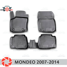 Коврики для Ford Mondeo 2007-2014 ковры Нескользящие полиуретановые грязезащитные внутренние аксессуары для стайлинга автомобилей